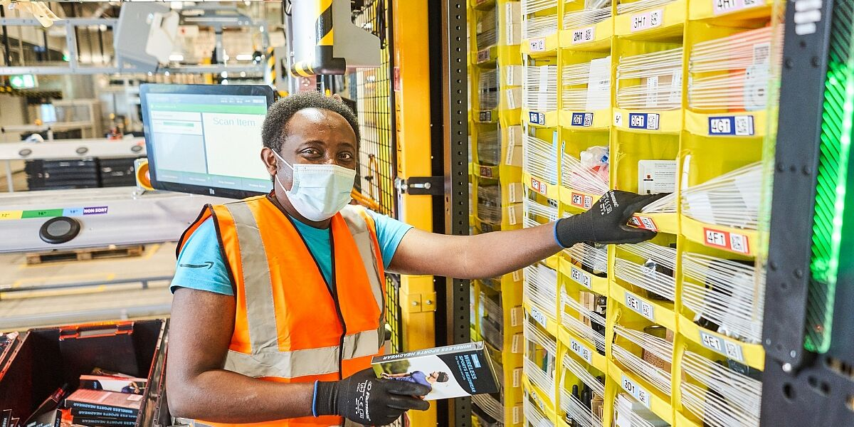 Amazon-Mitarbeiter in Winsen