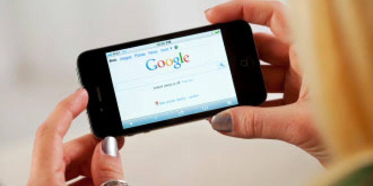 Mobiles Suchvolumen in Großbritannien nimmt zu