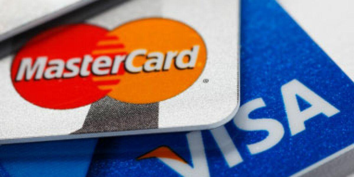 Visa und Mastercard wollen Daten für Onlinewerbung nutzen