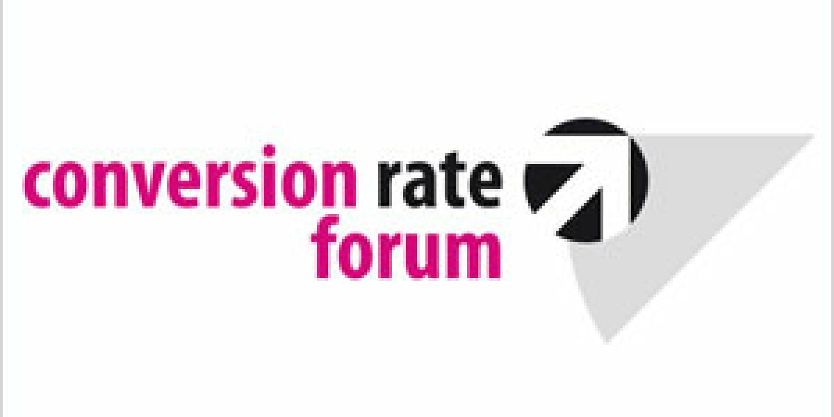 Conversion Rate Conference im November in Hamburg