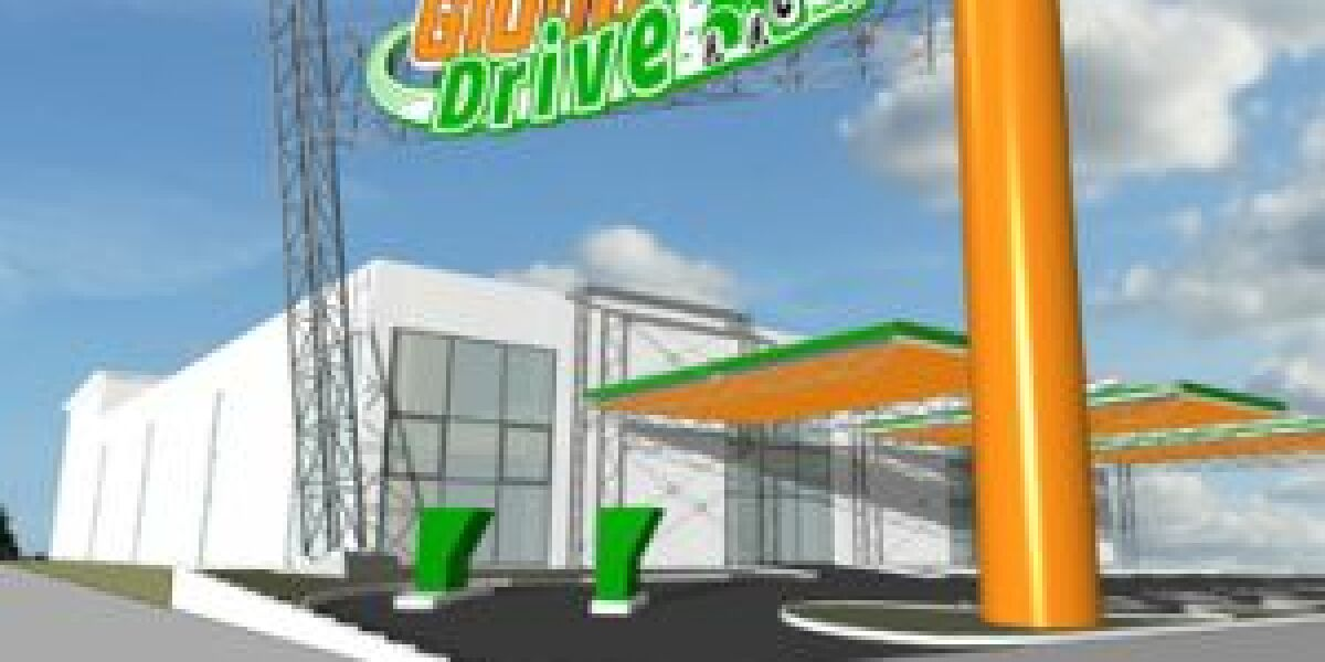 Supermarktkette Globus eröffnet Globus Drive