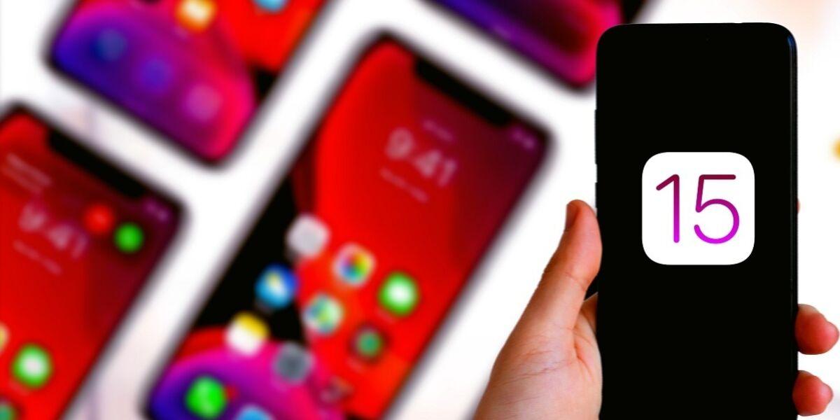 Apple iOS 15-Update auf iPhone