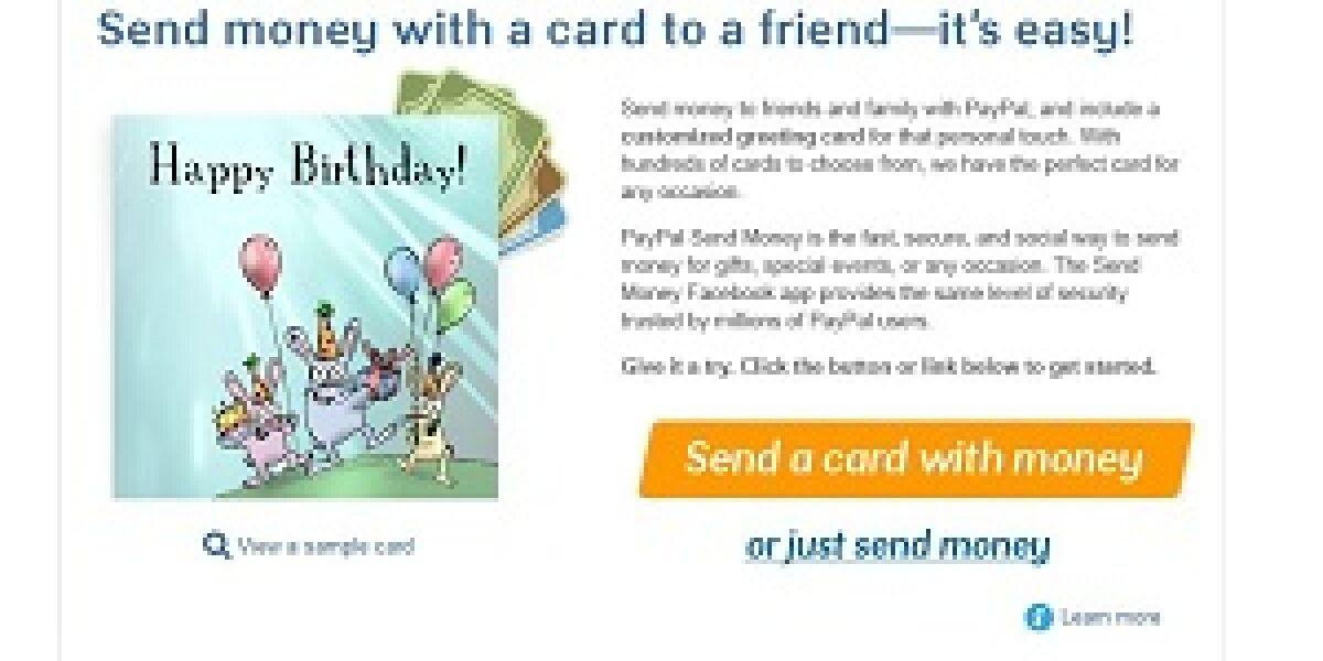Paypal bringt Facebook-Bezahl-App