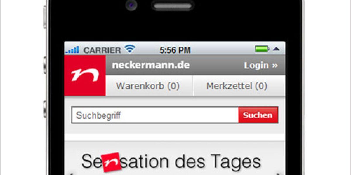 neckermann.de startet in den M-Commerce