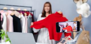 Live Shopping Videodreh