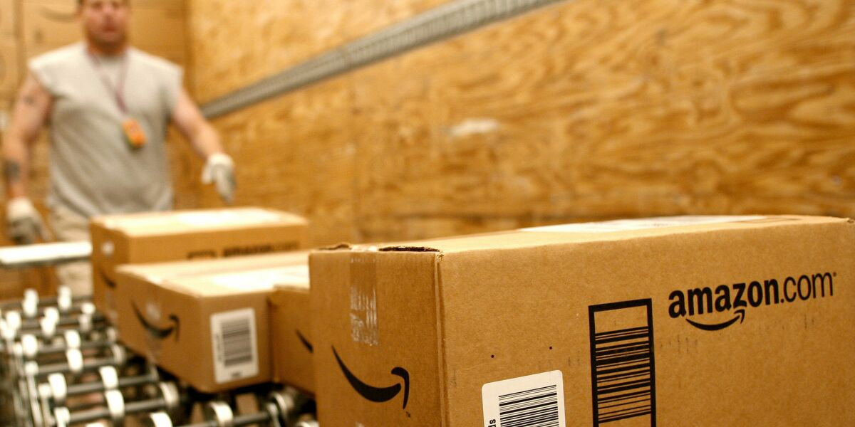 Logistik-Offensive: Amazon testet eigene Packstation