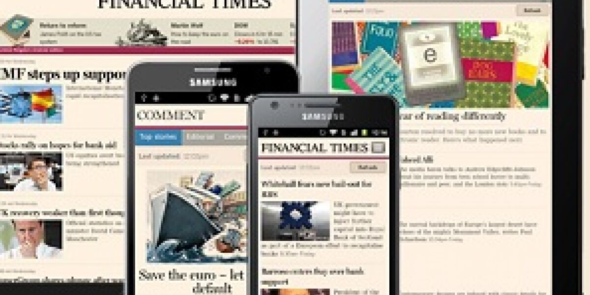 Android-App für Financial Times