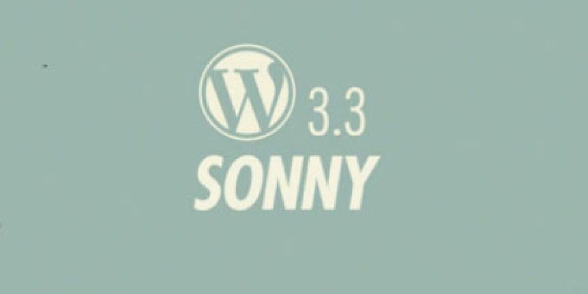 Version 3.3 von WordPress ist verfügbar