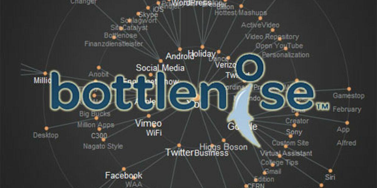 Bottlenose kanalisiert Social Media Feeds