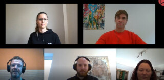 Amazon-Experten Nadine Schöpper (Bid-X), Jens Jokschat (PrimeUp), Lennart Hinz (Movesell) und Hanno Deyle (Valuezon)