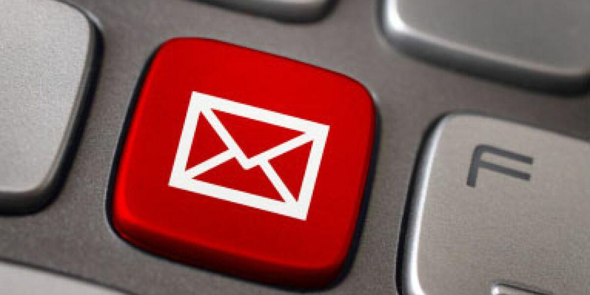 Mailaufkommen von Top-US-Händlern