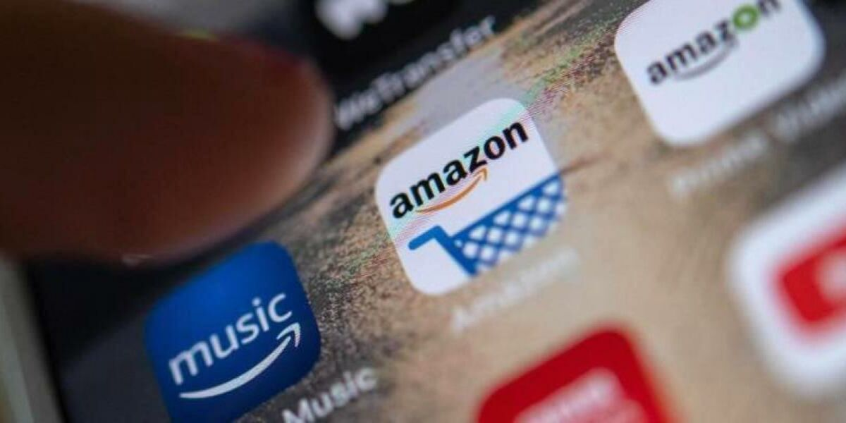 Amazon-App auf Smartphone