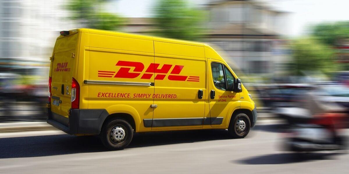 DHL Fahrzeug