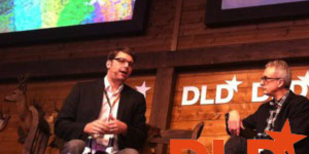 Groupon-CEO Andrew Mason auf der DLD Conference