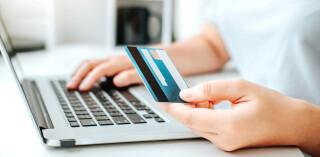 Online Payment mit Kreditkarte