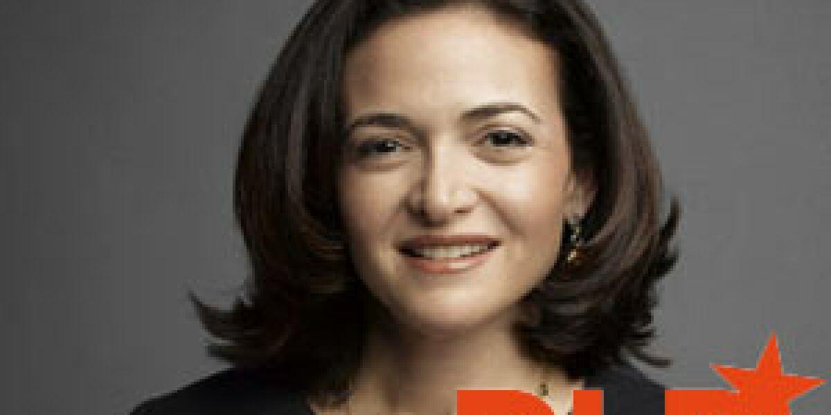 Sheryl Sandberg auf der DLD Conference