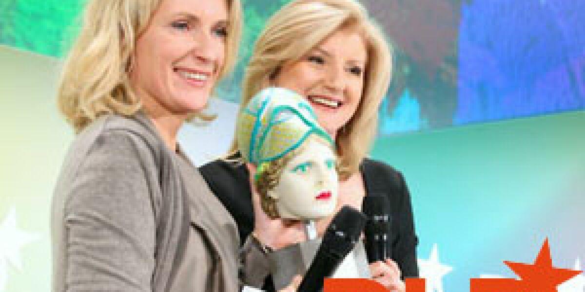 Aenne Burda Award für Arianna Huffington