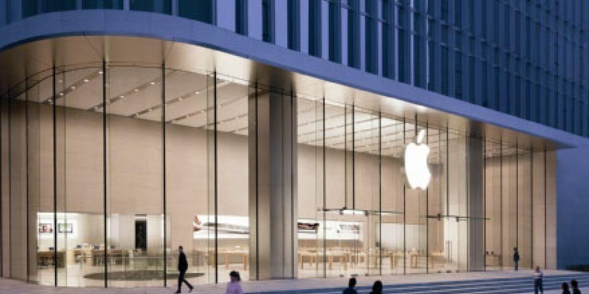 Apple meldet Rekordquartal