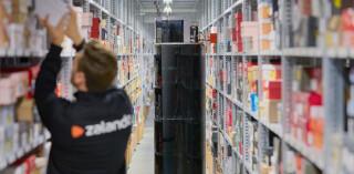 Zalando TORU-Roboter in der Logistik
