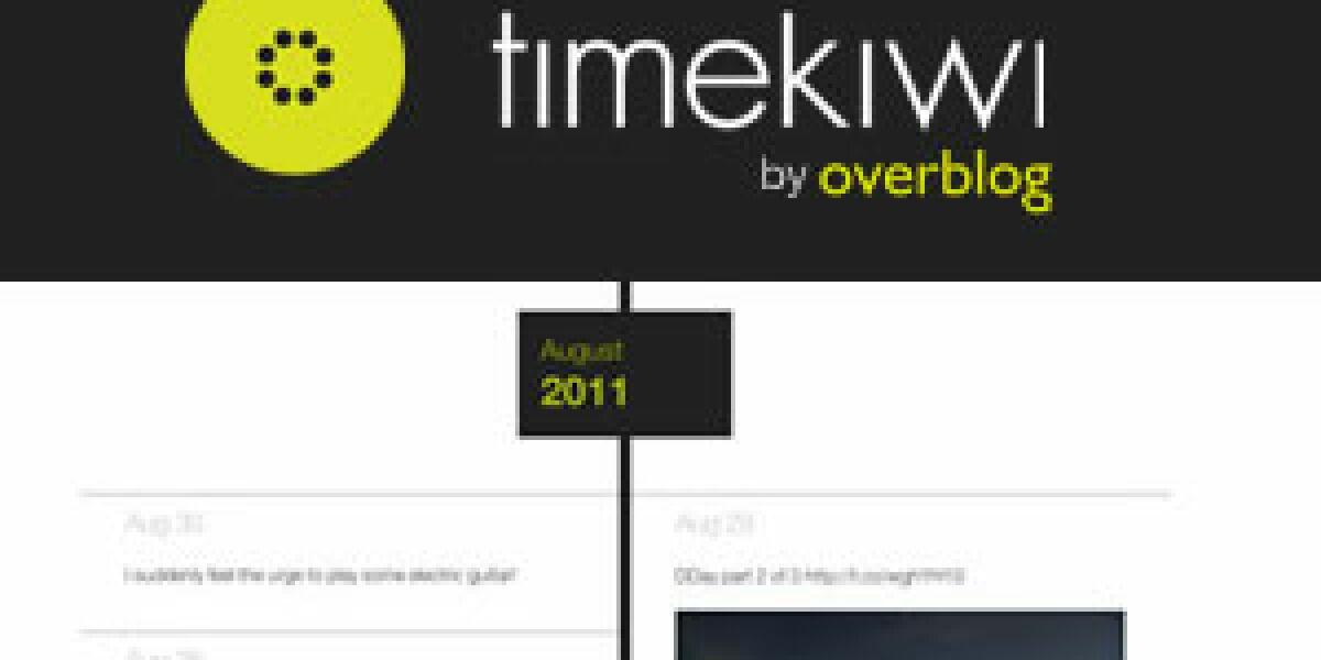 OverBlog übernimmt Timekiwi