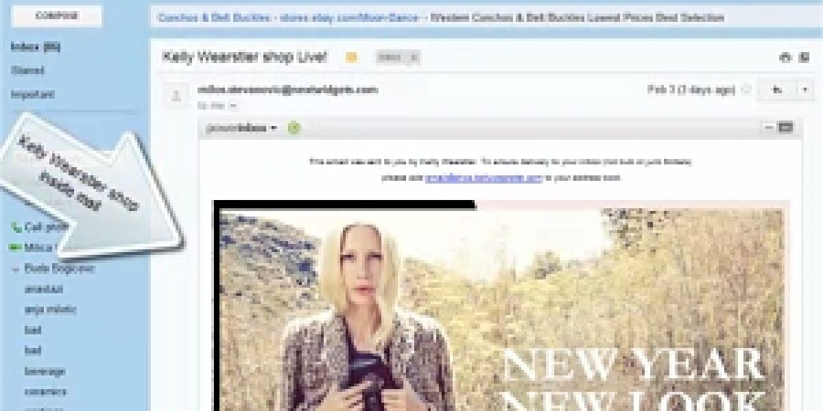 NextMail Screen