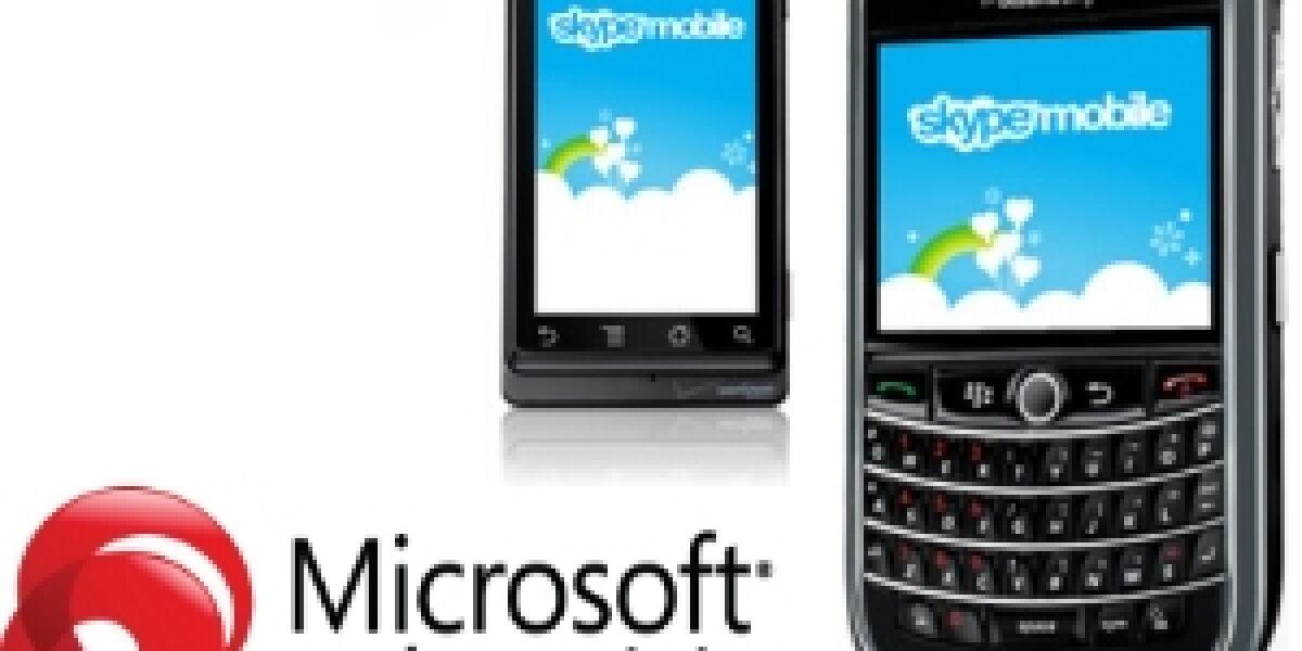 Microsoft Advertising vermarktet Skype