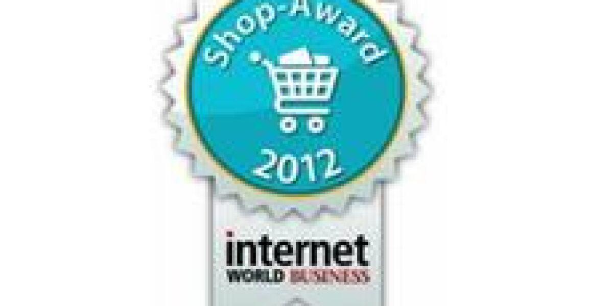 INTERNET WORLD Business Shop-Award 2012