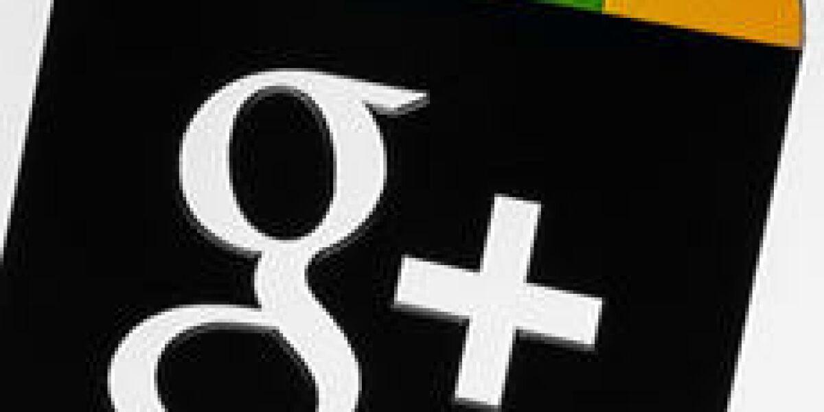 Nutzungsstatistiken zu Google+