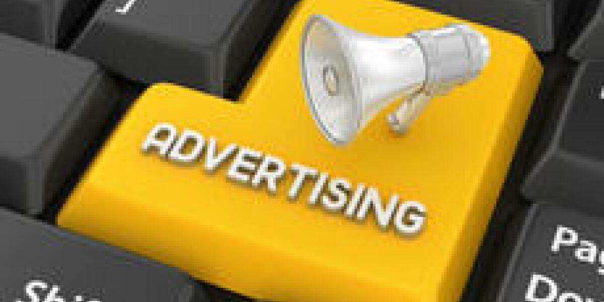 Onlinewerbung ist Teil der Marketingstrategie