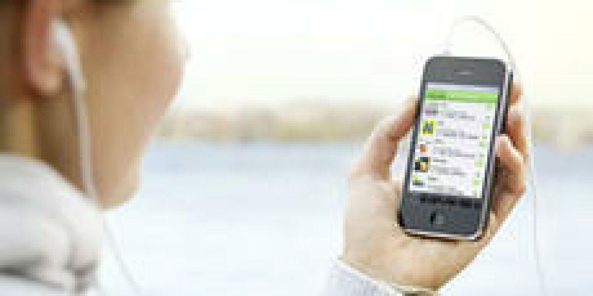Soziale Medien treiben Nutzung mobiler Inhalte an