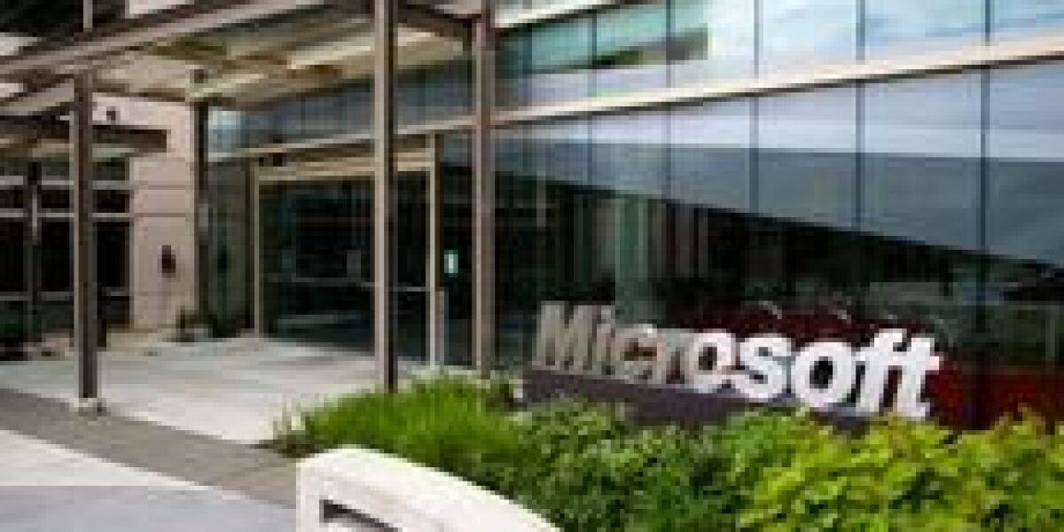 Leicht schwächeres Quartal bei Microsoft