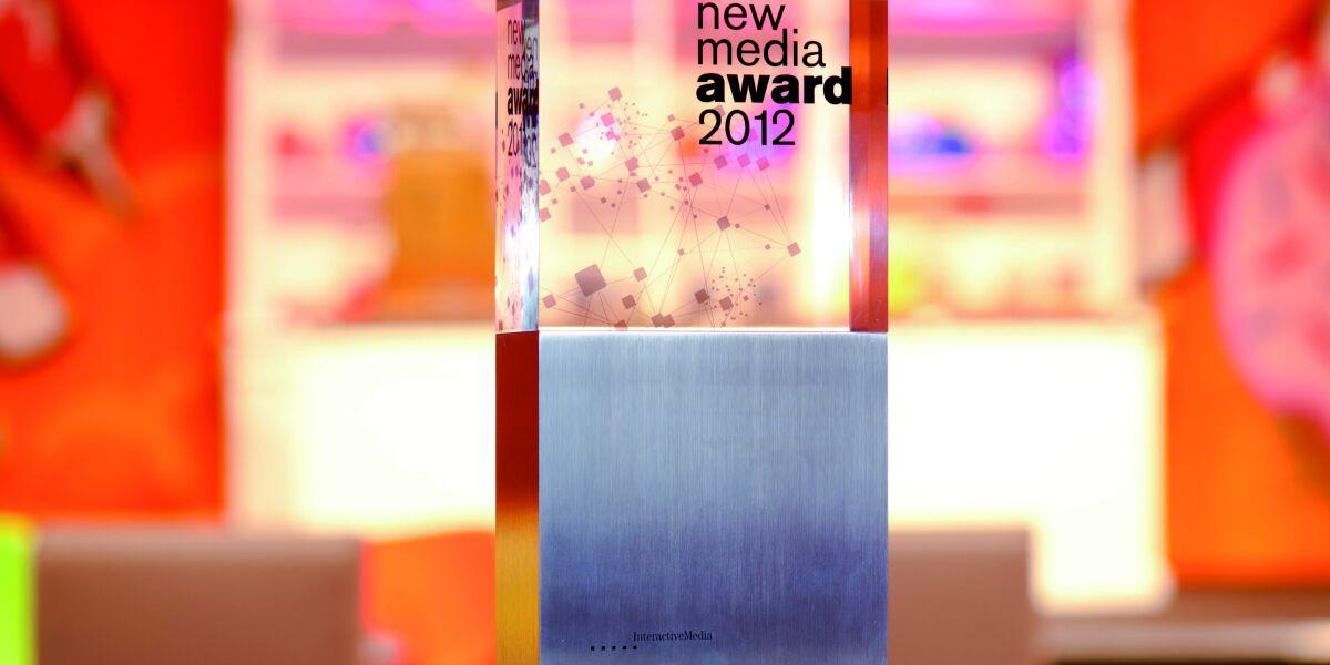 Der New Media Award 2012