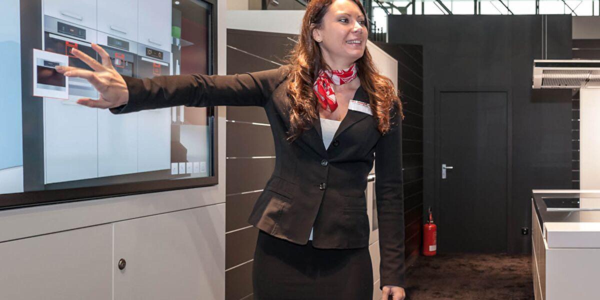 Miele-Küchengeräte als digitales Show-Erlebnis