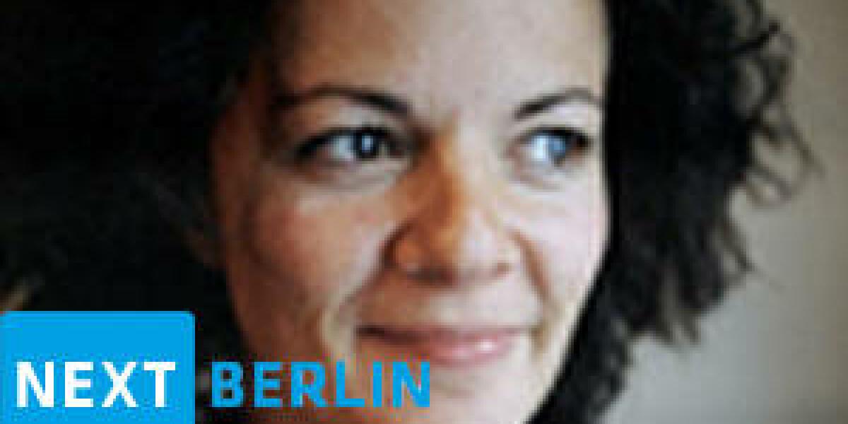 Alice Taylor von Makielab auf der next 2012