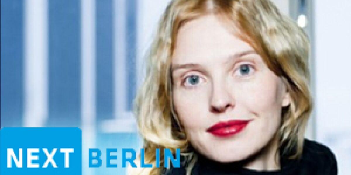Thinglink-CEO Ulla Maaria Engestrom auf der next12