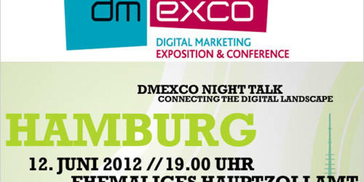 dmexco Night Talk in Hamburg