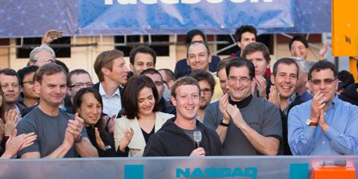 Facebook nach dem Börsengang