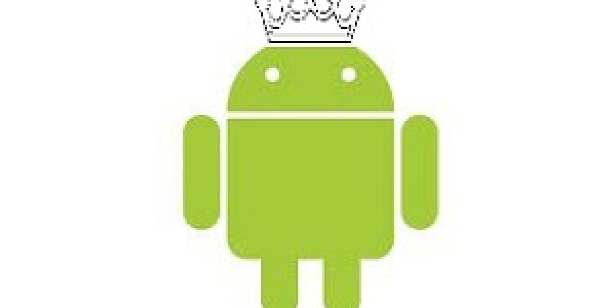 Verbreitung von Smartphone-Betriebssystemen