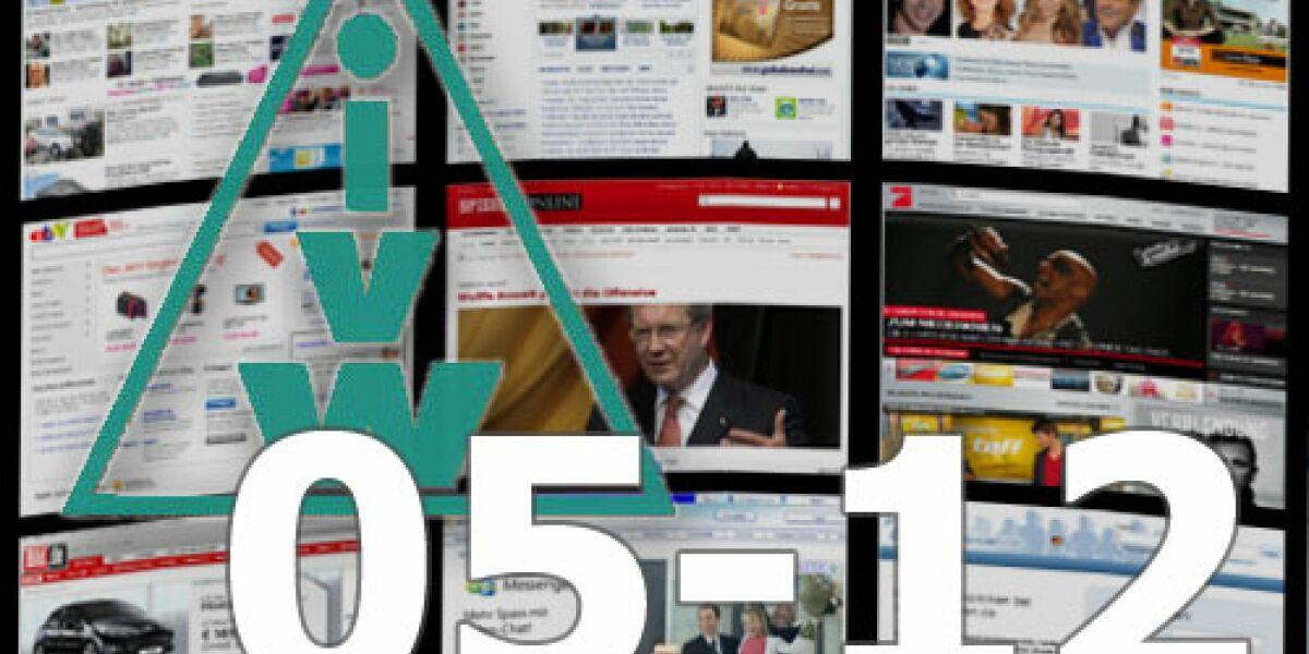 Wetterseiten stürmen die IVW-Charts im Mai 2012