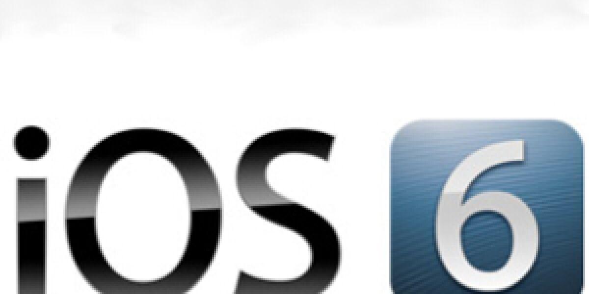 Vorstellung des neuen Apple-Betriebssystems iOS 6: 200 neue Funktionen
