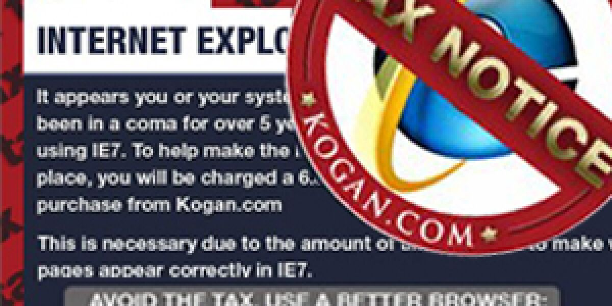 Kogan tax