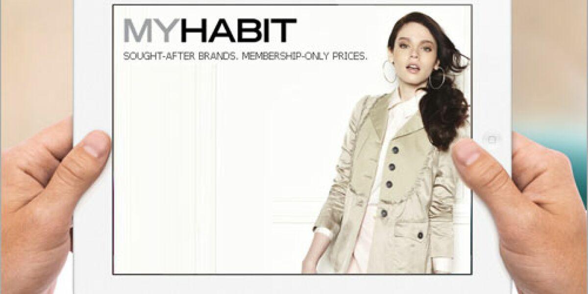 MyHabit startet mobile App für Android
