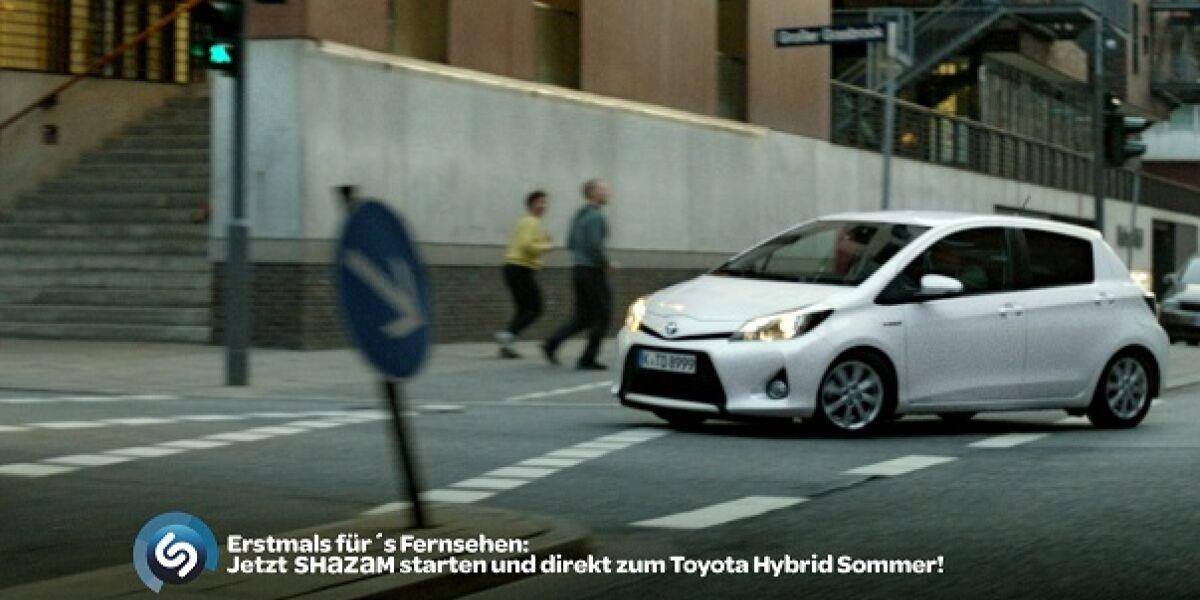 Toyota nutzt Shazam