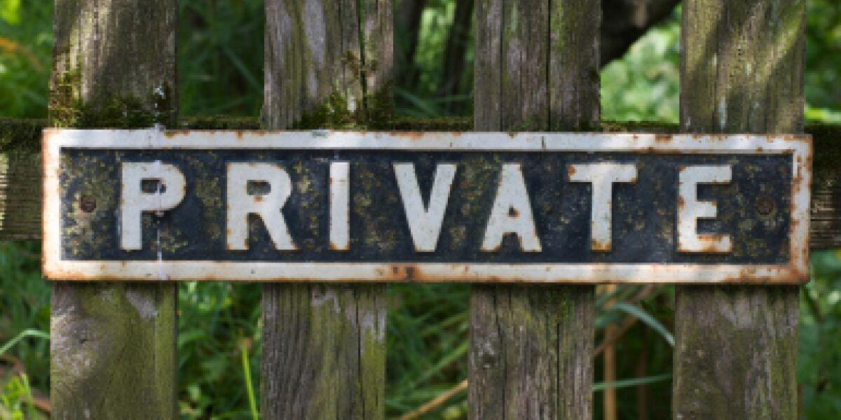 Die Privatsphäre steht bei den Amerikanern an oberster Stelle