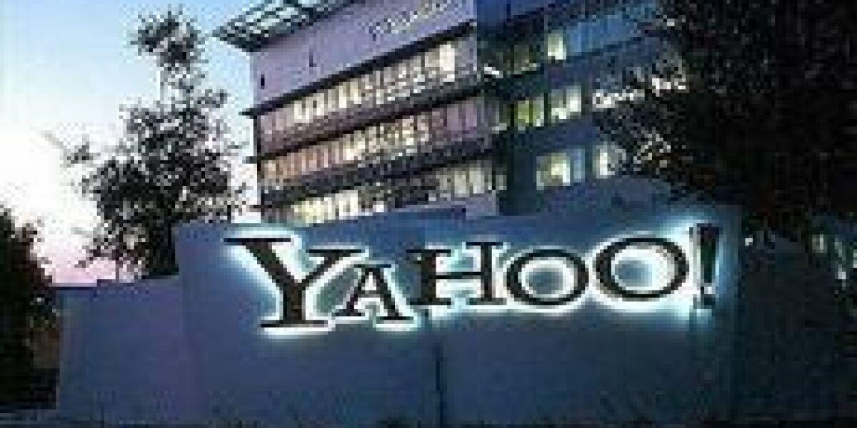 Yahoos zweites Quartals 2012