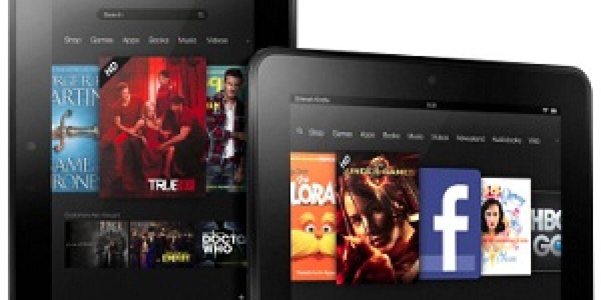 Kindle Fire- und E-Reader-Vorstellung