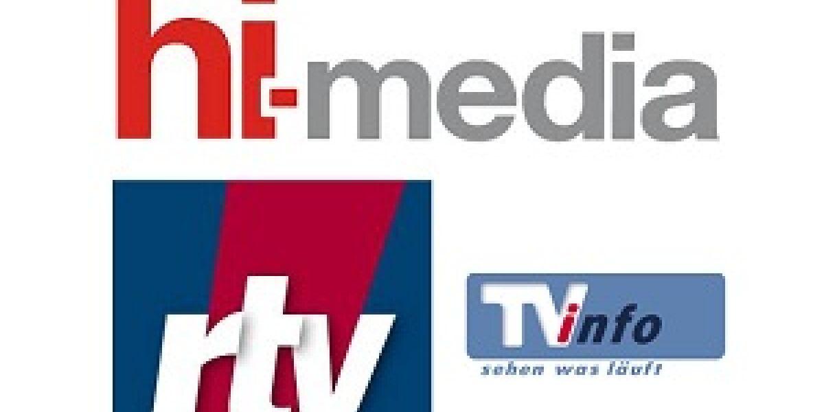 Hi-Media Deutschland vermarktet TVinfo HD und rtv.de