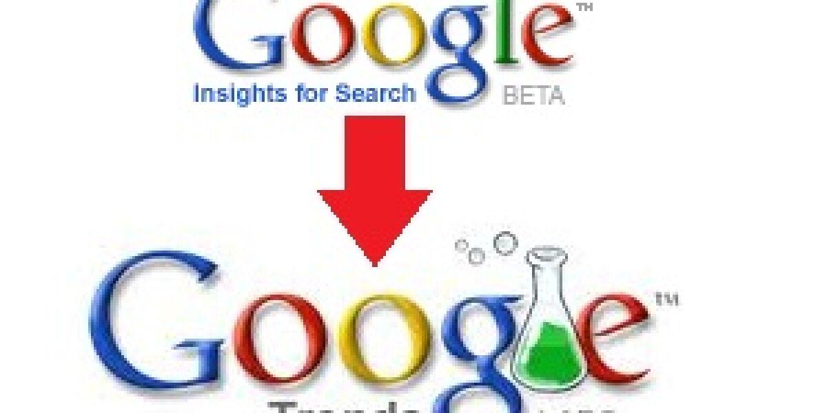 Google legt Search-Tools zusammen
