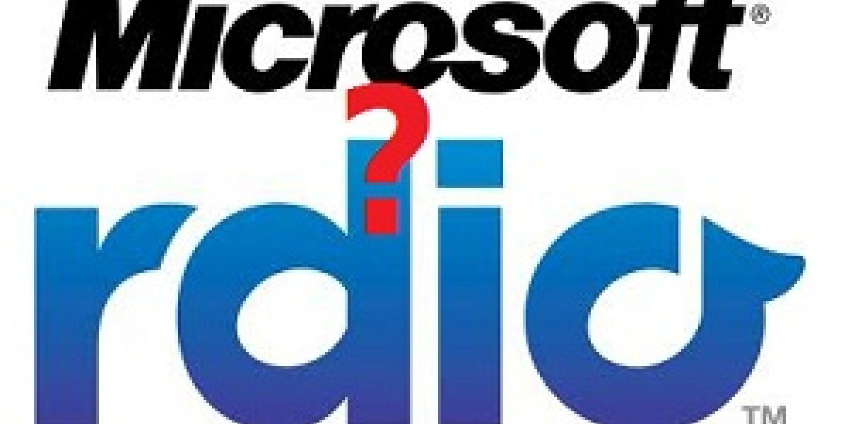 Will Microsoft Rdio kaufen?