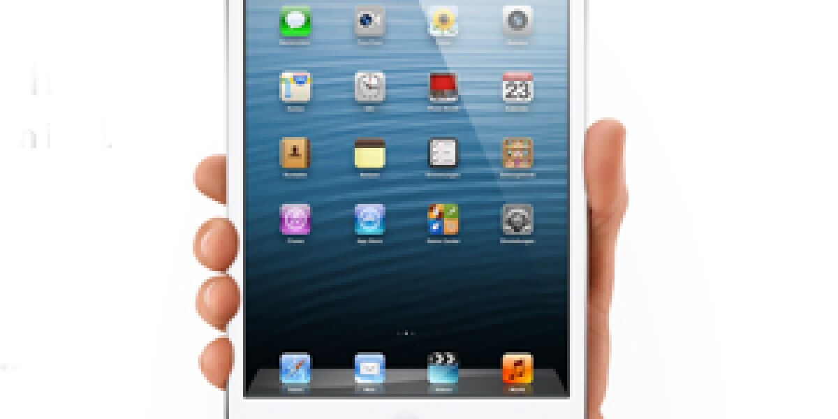 Erstes iPad mini-Verkaufswochenende